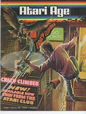 Atari Age Magazine Vol. 1 # 5 - Crazy Climber, retro gaming, 2600, arcade
