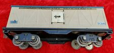 1930's Lionel 514R Ivory / Blue car with Brass and nickel mixed trimmed