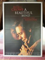 Kino # Original Filmplakat # A Beautiful Mind # DIN-A-1 # gefaltet # gebr # 2001