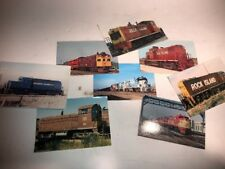 Rock Island Train Post Cards Pictures Lot Vintage