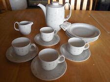 Arzberg Germany Demitasse Coffee Set Coffee Pot 4 cup & saucer 4 dessert plates