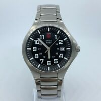 SWISS ARMY VICTORINOX STAINLESS STEEL 40MM CASE MENS WATCH 040273075 24178