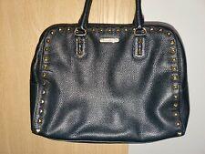 Women's Authentic Michael Kors Black Leather Purse Large