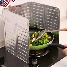 Stove Splatter Guard Folding Non-Stick Grease Shield Cooking Spill Protecto