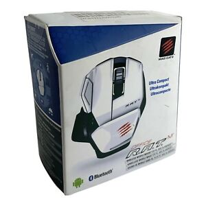 Mad Catz - OFFICE RAT Wireless Mobile Mouse for PC - White - RARE