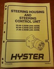Hyster Steering Housing And Steering Control Unit Manual Part No.897493