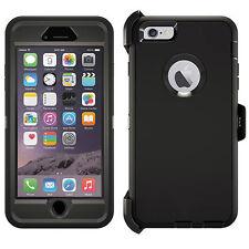 Heavy Duty Tough Case iPhone 6 6S Plus 5 5S 5C SE 4 4S iPod Touch 4