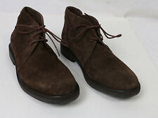 Joseph Abboud Men`s Brown Suede Leather Shoes High Quality Oxfords Men Size 10
