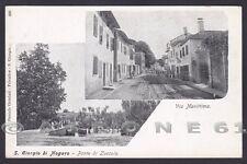 UDINE SAN GIORGIO DI NOGARO 06 PONTE DI ZUCCOLA - VIA MARITTIMA Cartolina