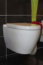 TAHARET WC , HÄNGE WC , TAHARAT WC mit VARIABLER FLACHDÜSE MIT WC DECKEL