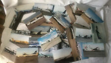 Genuine Plane Photographs Fokker, Airbus, Boeing etc 29 photo's Free postage