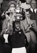 West Ham Billy Bonds Celebrates 1975 FA Cup Final Win BW POSTER