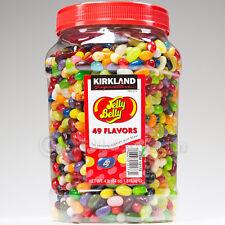 Original Jelly Belly Beans  Candy 4-Pound 49 Flavors 64 oz Kirkland Signature