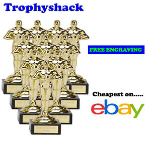 10 x 178mm Oscar,Prom,Trophy,Award by The Trophy Shack,FREE Personalisation