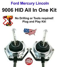 9006 All In One Xenon HID 6000K Fully Integrated Ballast Ford Mercury Lincoln