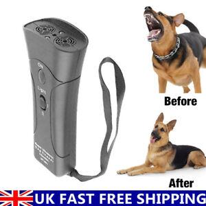 Ultrasonic Aggressive Anti-Bark Deterrent Train Dog Pet Repeller Barking Stopper