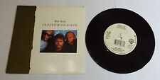 """BEE GEES Crazy for your love 7"""" single PROMO BIG A-Near Comme neuf"""