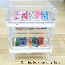 Desktop Tape Dispenser Washi Tape Cutter Tape Holder (Not Include Masking Tape)