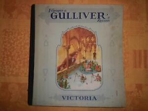 Album chromos Victoria - Voyages de Gulliver's Reizen - complet