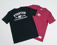HUF X Starter Arch SS T-Shirt Burgundy - Men's Size Medium (M)