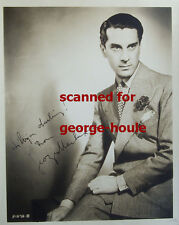 GEORGES METAXA -PHOTOGRAPH - AUTOGRAPH  - SCOTLAND YARD - ASTAIRE - DIED AT 51