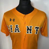 Under Armour Tokyo Yomiuri Giants Japan Japanese Baseball Shirt Jersey UK M