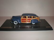 1/43 Matrix 1942 Chrysler Town & Country Wagon Blue 20303-071