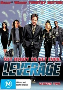 Leverage Season 2  DVD Series Two Complete DRAMA OVER 5 HOURS - NEW