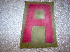 WWI US Army patch First 1st Army Railroad Artillery Patch