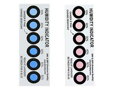 Dry & Dry Premium Humidity Indicator Cards 50 Pack - 10-60% 6 Spot(50 Cards)