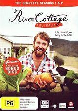 RIVER COTTAGE AUSTRALIA : SEASON 1 & 2 +bonus disc  - DVD - UK Compatible - New