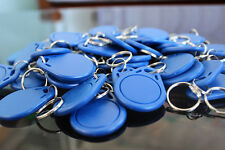 100X 13.56Mhz RFID Keyfobs Proximity Tags Key Token NFC Smart for Access Control