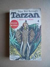 TARZAN Il Figlio di Tarzan edizione Integrale  ed. Giunti 1971 [G466] Discreto