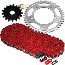 Red O-Ring Drive Chain & Sprockets Kit Fits SUZUKI GSX-R750 GSXR750 2006-2010