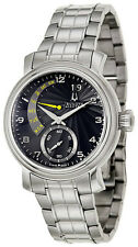 Swiss Made Bulova Accutron 63C103 Amerigo Retrograde Calendar SS Men's Watch