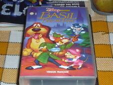 BASIL LE DETECTIVE VHS FR French version Walt Disney RARE cartoon animé used