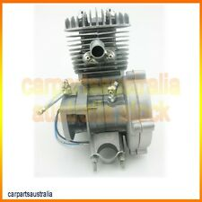 80cc 2 Stroke Engine Motor for Motorized Bicycle Bike Engine only Silver
