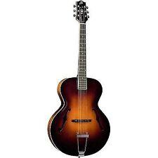 The Loar Deluxe LH-700 LH-700-VS Acoustic Guitar