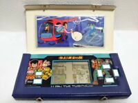 LUPIN THE 3RD Third Epoch 1984 LCD Game Watch Handheld w/original case Japan