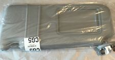 Replacement Toyota Camry Grey Drivers Side Sun Visor With Vanity Lamp fits 07-11
