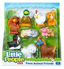 Fisher Little People Farm Animal Friends with Bunnies