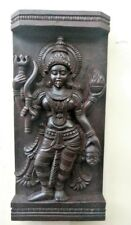 Vintage Temple Wall Panel Hindu Durga Kali panel sculpture Statue Home Decor Old