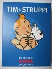 Tim & Struppi Collection 1 mit 3 Postkarten . . Top-Zustand