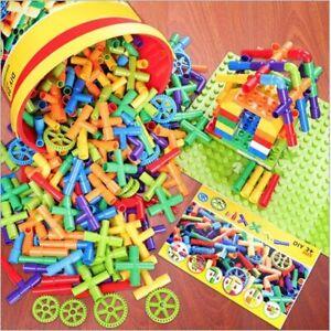 Pipe Building Blocks Assembling Toy Kid Tunnel Block Model Compatible Bricks