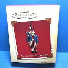 "Hallmark  ""Uncle Sam Nutcracker"" Ornament 2003"