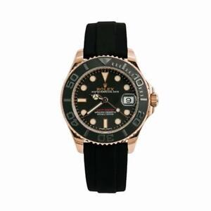 Rolex Yacht-Master 268655 Ceramic Mens Automatic Watch 18K Everose W/Box 37mm