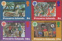 Pitcairn Islands 1979 SG200-203 Christmas set MNH