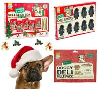 Pawsley Christmas Dog Treats Gift Chew Selection Box