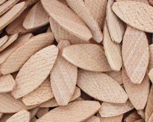 Flachdübel, Verbindungsplättchen, Buchenholz Größen u. Mengen wählbar