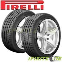 2 Pirelli P-ZERO All Season Plus 245/40R18 97Y PZERO Ultra High Performance Tire